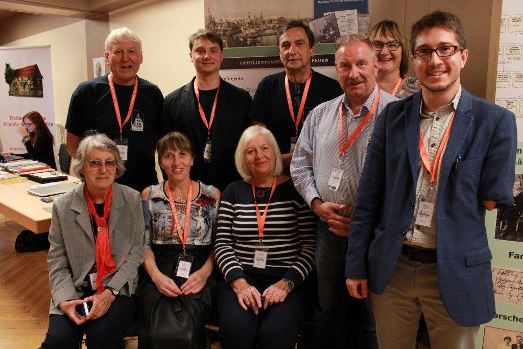 Das DVG-Team auf dem 71. Deutschen Genealogentag 2019 in Gotha